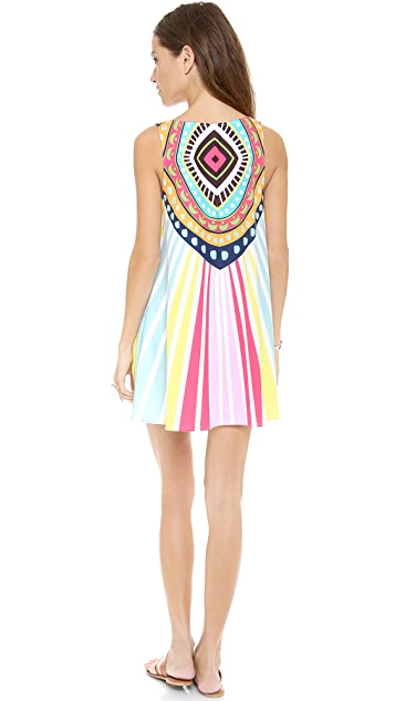 Mara Hoffman Rays Swing Mini Dress