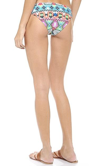 Mara Hoffman Astrodreamer Basket Weave Bikini Bottoms