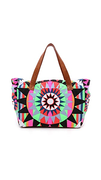 Mara Hoffman Canvas Weekend Bag