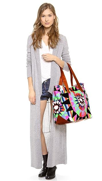 Mara Hoffman Canvas Weekend Bag