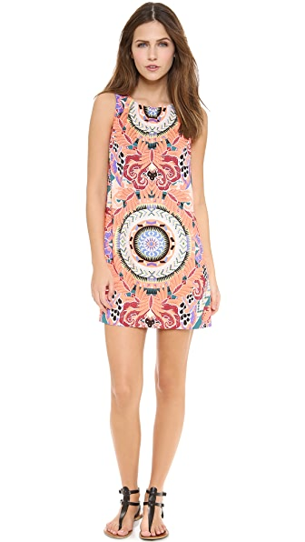 Mara Hoffman Pleat Front Shift Dress