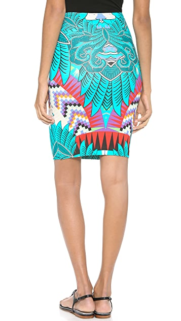 Mara Hoffman Fitted Pencil Skirt