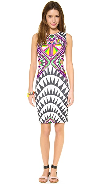 Mara Hoffman Side Cutout Fitted Dress