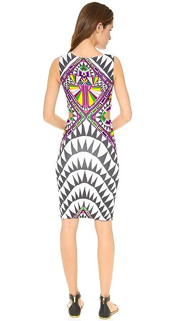 Mara Hoffman Side Cutout Fitted Dress