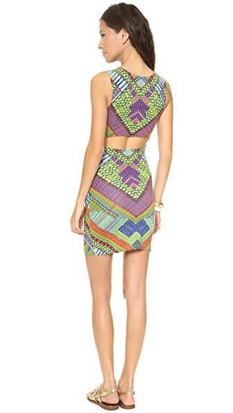 Mara Hoffman Slit Back Mini Dress
