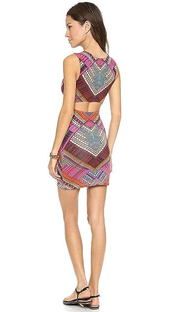 Mara Hoffman Slit Back Mini Dress