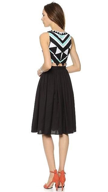 Mara Hoffman Gathered Waist Dress