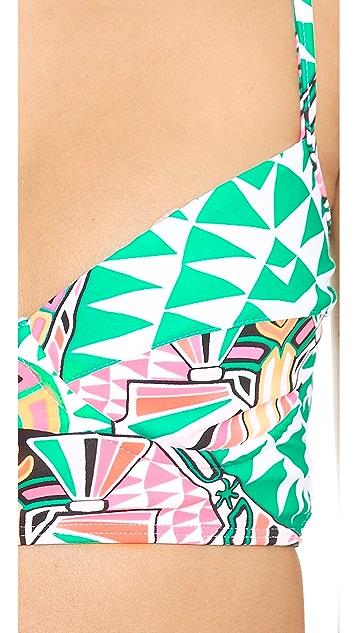 Mara Hoffman Cosmic Fountain Cami Underwire Bikini Top