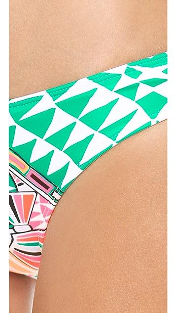 Mara Hoffman Cosmic Fountain Bikini Bottoms