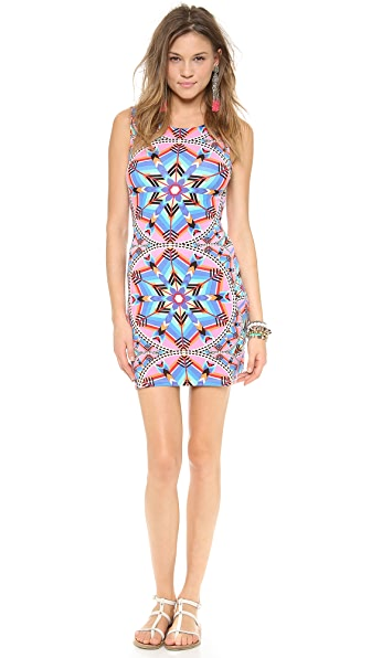 Mara Hoffman Kites Cutout Back Mini Dress