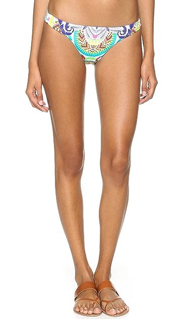 Mara Hoffman Jungle Trip Low Rise Bikini Bottoms