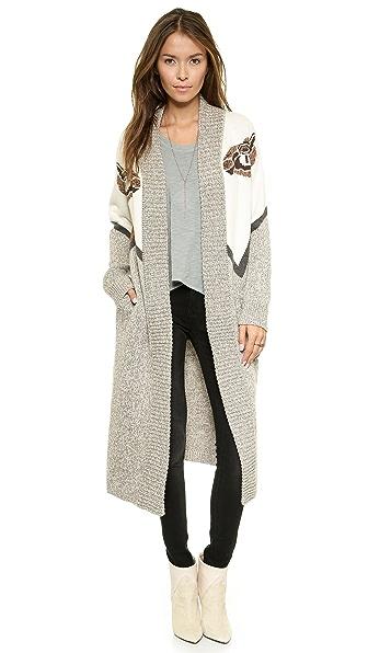 Mara Hoffman Camels Sweater Coat