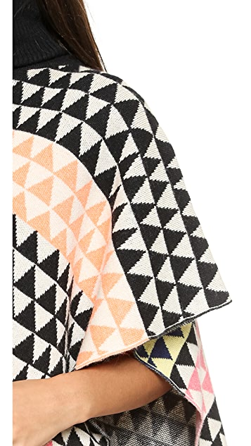 Mara Hoffman Triangle Poncho