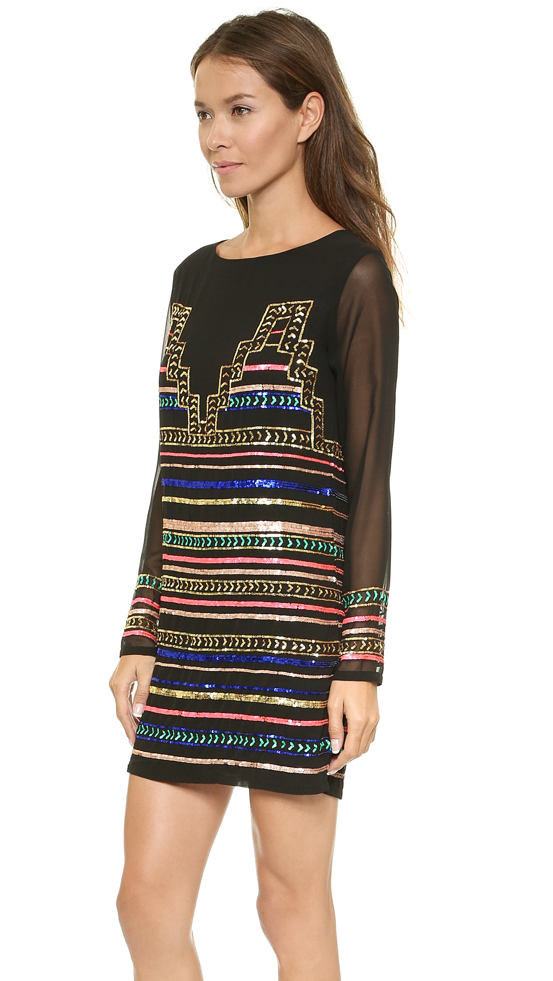 977d15bfbb20 Mara Hoffman Mini Sequin Dress | SHOPBOP