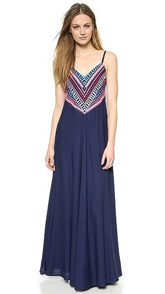 Mara Hoffman Embellished Maxi Dress