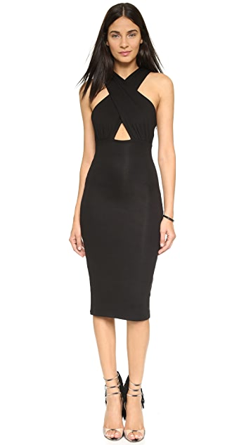 Mara Hoffman Crisscross Midi Dress