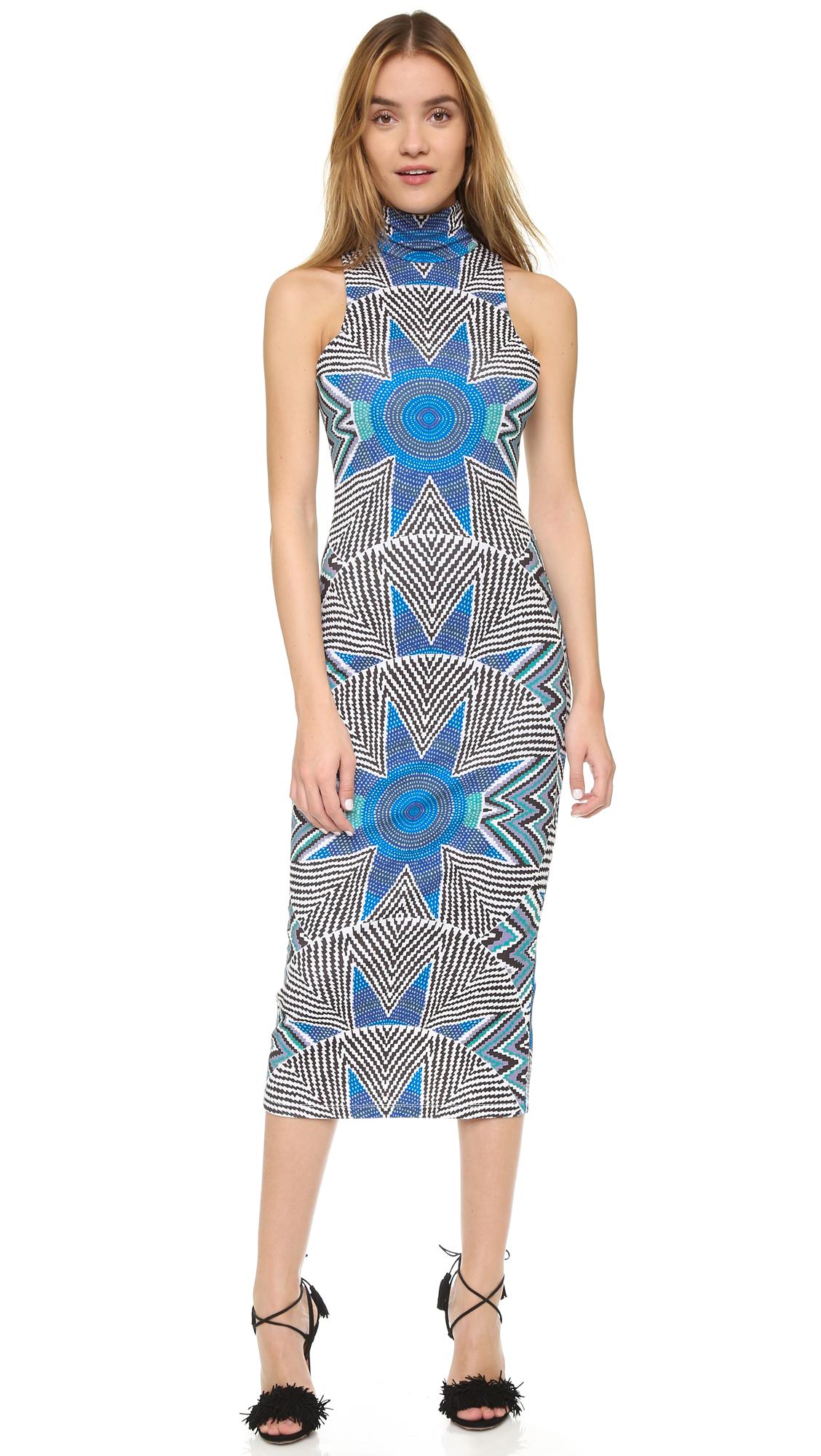 Mara Hoffman Ponte Turtleneck Dress  2af0e81e01
