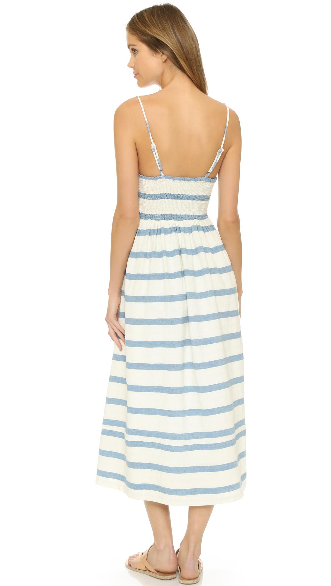 da1590a926a Mara Hoffman Bustier Maxi Dress
