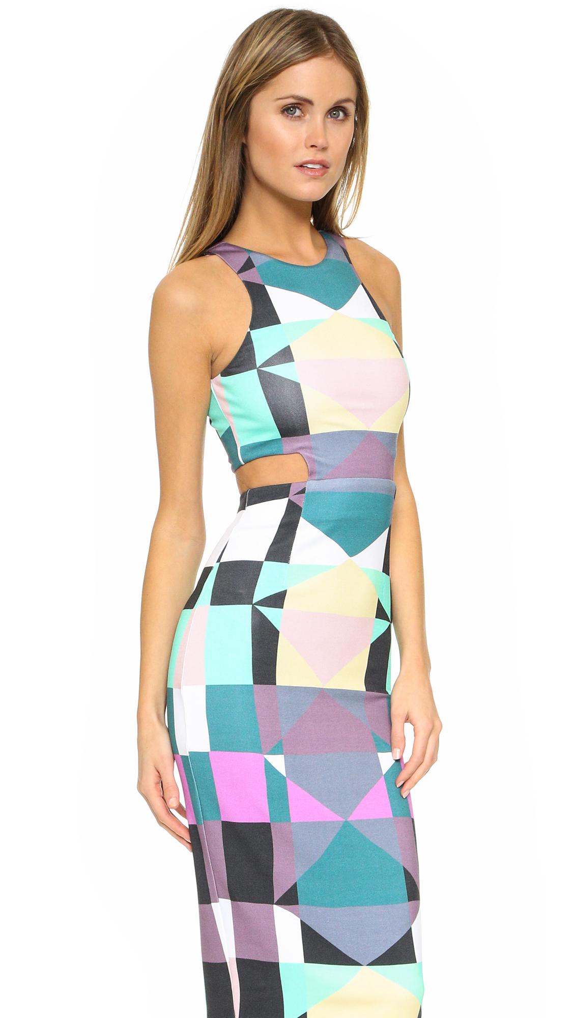 Mara Hoffman Cutout Midi Dress Shopbop