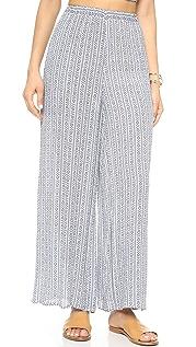 Mara Hoffman Широкие брюки