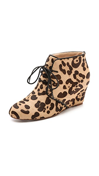 Marais USA Curve Haircalf Wedge Booties