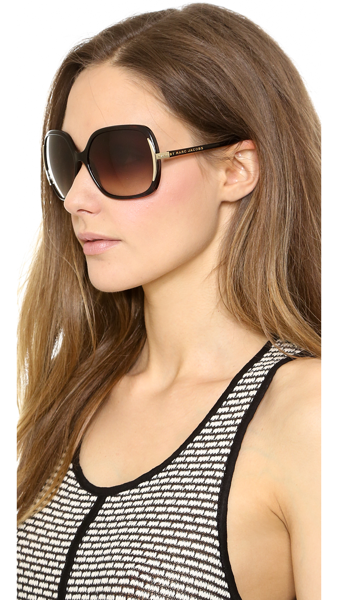 275ea67dab8 Marc by Marc Jacobs Oversized Sunglasses