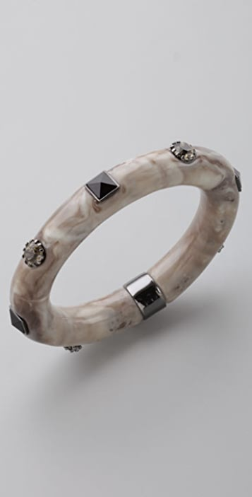 Marc by Marc Jacobs Faux Fancy Oval Bangle