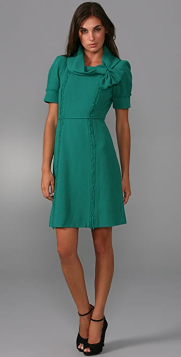 Marc by Marc Jacobs Crepe Twill Dress
