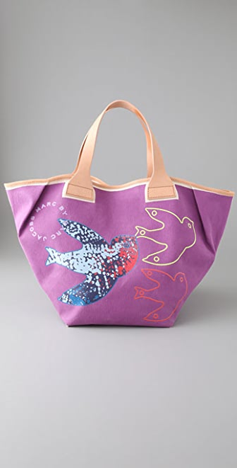 Marc by Marc Jacobs Graphic Birds Mabel Tote