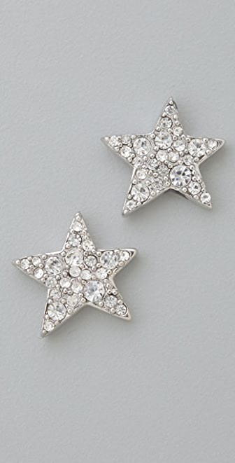 Marc by Marc Jacobs Starlight Friends Pave Star Stud Earrings