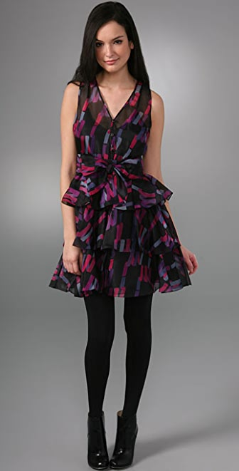 Marc by Marc Jacobs Confetti Streamers Dress