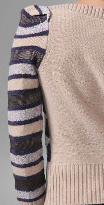 Marc by Marc Jacobs Diamond Tweed Sweater