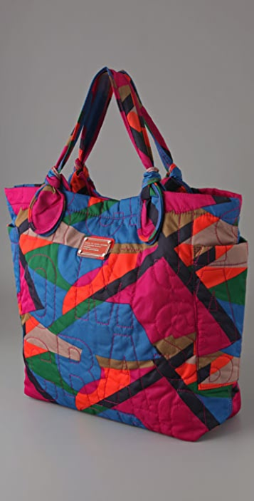 Marc by Marc Jacobs Pretty Nylon Damisi Collage Tate Tote