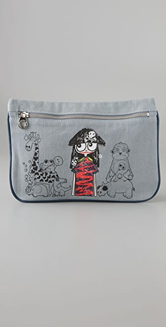 Marc by Marc Jacobs Miss Marc Zip Pouch