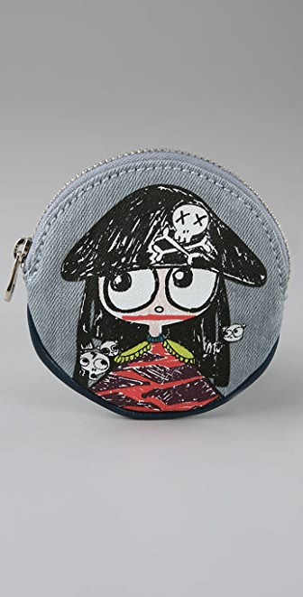 Marc by Marc Jacobs Miss Marc Circle Coin Purse