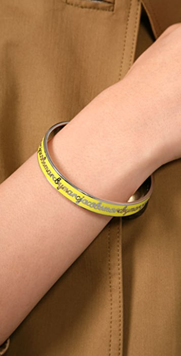 Marc by Marc Jacobs Skinny Script Bangle