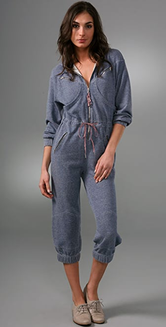 Marc by Marc Jacobs Dash Terry Jumpsuit