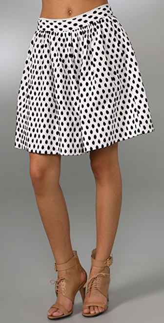 Marc by Marc Jacobs Leola Dot Jacquard Shorts