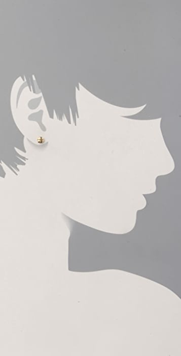 Marc by Marc Jacobs ReMARCable Screw Stud Earrings