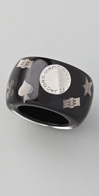 Marc by Marc Jacobs Inlay Confetti Ring