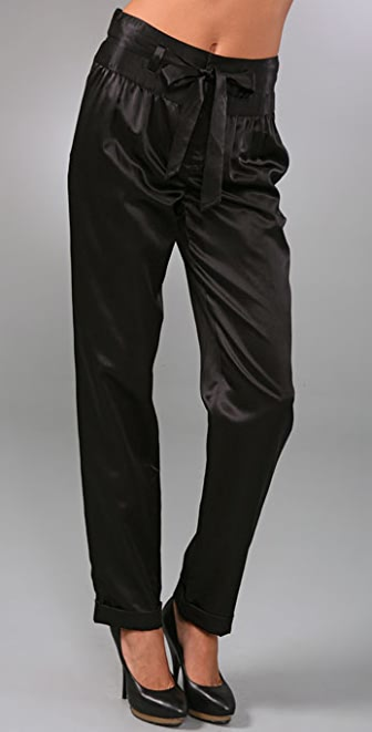 Marc by Marc Jacobs Viola Satin Pants