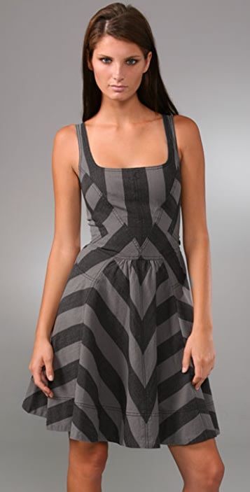 Marc by Marc Jacobs Jailbird Stripe Dress