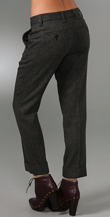 Marc by Marc Jacobs Reilly Herringbone Pants