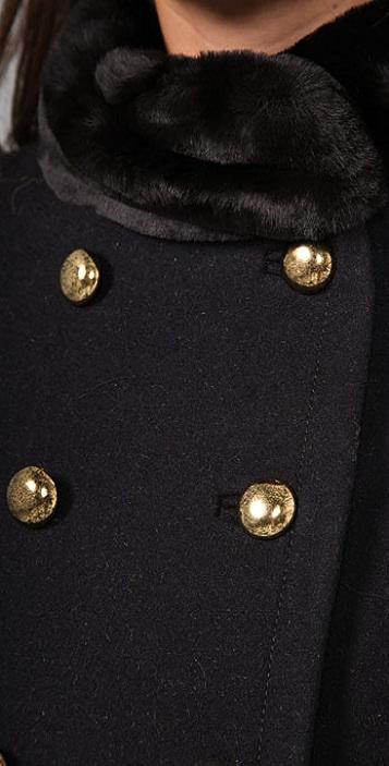 Marc by Marc Jacobs Gemini Melton Coat