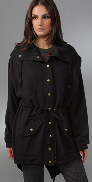 Marc by Marc Jacobs Vintage Fleece Jacket