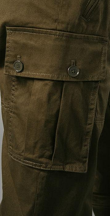 Marc by Marc Jacobs Uniform Cotton Pants