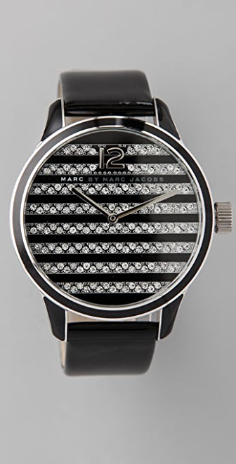 Marc by Marc Jacobs Linda Stripe Watch