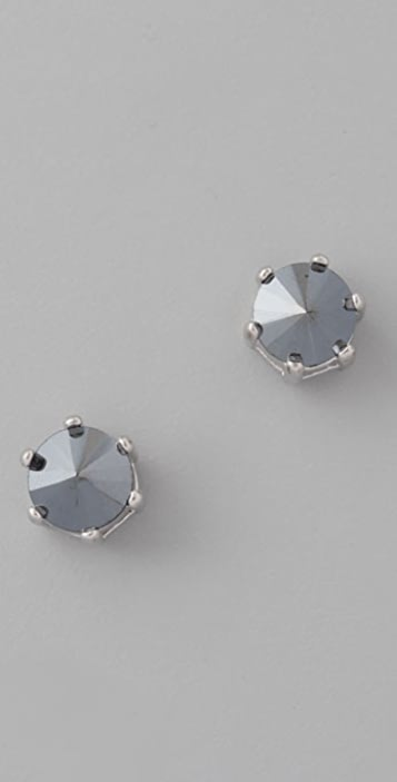 Marc by Marc Jacobs Admiral Facets Inverted Stud Earrings