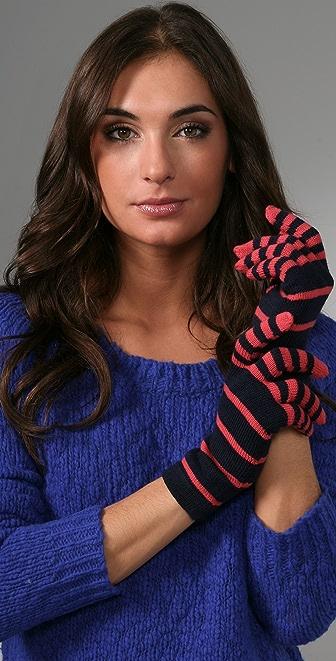 Marc by Marc Jacobs Sadie Stripe Gloves