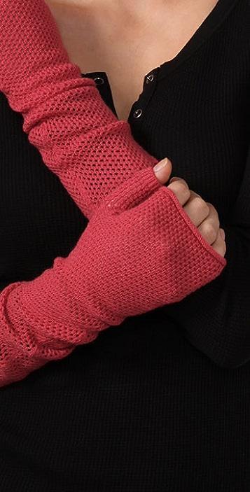 Marc by Marc Jacobs Jones Fishnet Gloves
